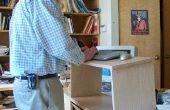 Faltung Stand Up Schreibtisch (noch ein anderes)