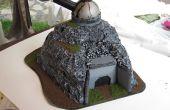 Bauen Mini Krieg Gaming Bunker Hill - freie