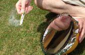 Parabolspiegel für Solarkocher
