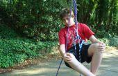 Wie man einen Baum (mit nur Seil!) Klettern Spaß/einfache Weise