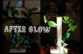 Die Afterglow-Lampe (Pappmaché und recyceltem Mat)