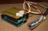 Android PfodApp kontrolliert Datalogging Arduino IRTemp Meter