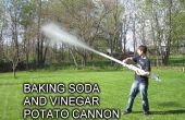 Backpulver und Essig Kanone
