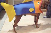 Wie Sie Ihren Hund in einen Fisch für Halloween verwandeln