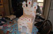 Fliegenpilz Burg Spielzeugkiste Stuhl Spielset