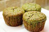 Grünkohl-Bananen-Muffins (glutenfrei)