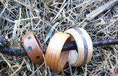 Bent Holz Ringe