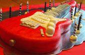 E-Gitarre Kuchen