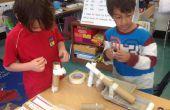Rube Goldberg inspiriert Marmor Roll - 1. Klasse basteln - Woche 8