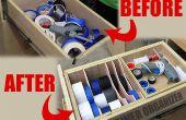 Machen einen Schublade-Organizer für den Workshop