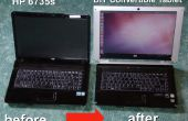 Erste selbst erstellte und veröffentlichte Yoga konvertierbaren Tablet / Laptop