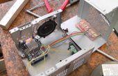 Adafruit Wave Schild + Arduino Uno R3 = ALARM (Knight Rider)