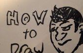 Gewusst wie: zeichnen Sie eine grundlegende Gesicht