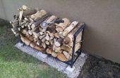 Brennholz-Rack