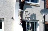 Wie eine Ninja-Krieger verzogene Wand bauen
