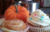 Pumpkin Swirl Cheescake Cupcakes