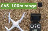 Billige Ready-to-Fly FPV Quadrocopter: £65 / $100, 100 m Reichweite im freien