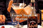 Leckere französischen Toast Martini