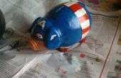 Captain America Piggy Bank