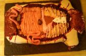 Verbrechen-Szene Kadaver Kuchen