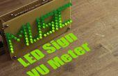 Machen Sie Ihre eigene LED-Zeichen-VU-Meter