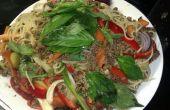 Spagetthai alla Bolognese - Spag Bol mit einem Thai Twist.