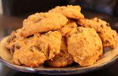 Köstliche Gluten-frei/vegane Kürbis Chocolate Chip Cookies