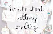 Gewusst wie: starten Sie den Verkauf auf Etsy
