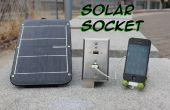 Notfall USB-Steckdose Solar: Solar Buchse