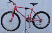 Hausgemachte Fahrrad Montageständer