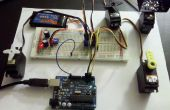 Serielle Servo Controller w/Arduino - Steuerung von bis zu 12 Servos gleichzeitig mit dem Arduino und eine USB-Verbindung
