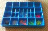 Gewusst wie: Sortieren Sie Loom Bands Lego Fach