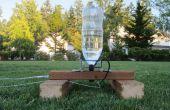 2 Liter Flasche Wasser Rakete und Launcher Pad