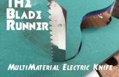 Der Blade Runner-Multimaterial elektrische Messer