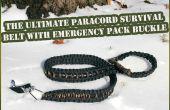 Ultimate Survivor Paracord mit Notpaket Gürtelschnalle (unter $20)
