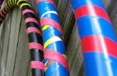 DIY-PVC-Rohr Hula-Hoop