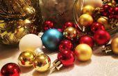 DIY Glas Glas Weihnachten Herzstück