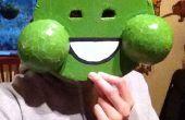 Grünen Schleim Ghost Maske
