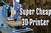 Super billig-3D-Drucker von CD-ROM-Laufwerke