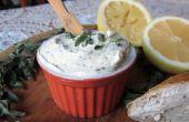 Einfachste und schnellste Butter von Grund auf neu (mit optionalen Kraut & Zitrone)