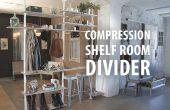 Kompression Regal Raumteiler