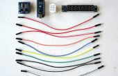 Arduino Nano und Visuino: 7 Segment Anzeige Uhr mit MAX7219 und DS1307 Echtzeit Clock(RTC)