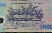 Erkennung von gefälschten Polymer vietnamesische Geld