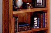 Wie man ein Bücherregal bauen
