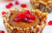 Kein Backen Persimmon & Granatapfel Dessert Cups