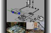 CNC-Kombimaschine und 3D-Drucker