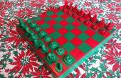 Personalisierte Familie Schach-Set