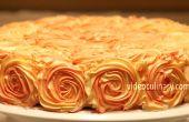 Rose Swirl Cake Decoration -