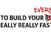 Wie Ihr alles wirklich sehr schnell bauen