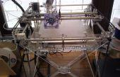 3D Drucker erhitzt Bett